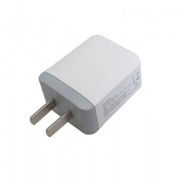 آداپتور و شارژر 5 ولت 2.4 آمپر دیواری دارای دو خروجی USB