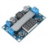 ماژول رگولاتور DC به DC افزاینده 6 آمپر LTC1871 دارای نمایشگر و قابلیت تنظیم ولتاژ خروجی