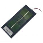 باتری / پنل خورشیدی انعطاف پذیر 1.3 ولت 1.25 وات