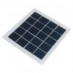 باتری / پنل خورشیدی پلی کریستال 5 ولت 400 میلی آمپر