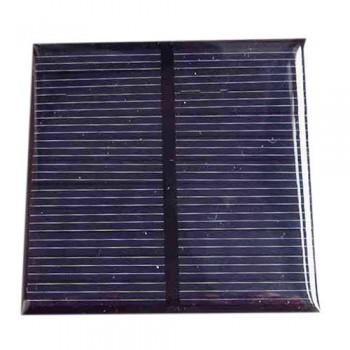 باتری / پنل خورشیدی 5.5 ولت 0.6 وات