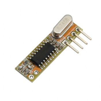 ماژول گیرنده وایرلس RXB12 دارای فرکانس 433Mhz