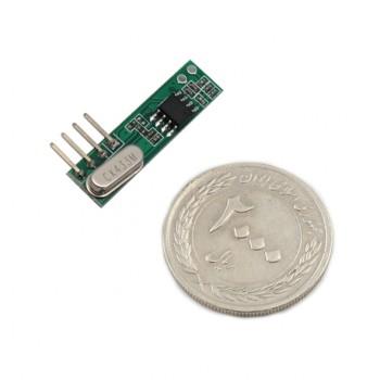 ماژول گیرنده وایرلس RXB61 دارای فرکانس 433Mhz