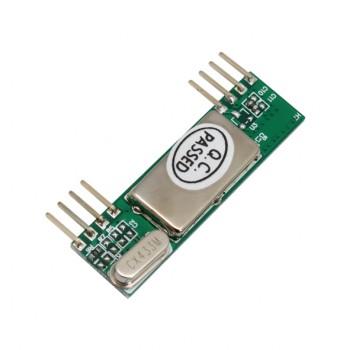 ماژول گیرنده وایرلس RXB6 دارای فرکانس 433Mhz
