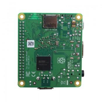 برد چهار هسته ای 64 بیتی رسپبری پای 3 مدل +A دارای 512MB RAM ، وایفای و بلوتوث داخلی