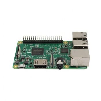 برد چهار هسته ای 64 بیتی رسپبری پای 3 مدل B دارای 1GB RAM ، وایفای و بلوتوث داخلی