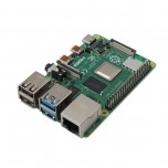 برد چهار هسته ای 64 بیتی رسپبری پای 4 مدل B دارای 2GB RAM ، وایفای و بلوتوث داخل