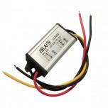 رگولاتور DC به DC کاهنده دارای خروجی 2A 5V ، کیس آلومینیومی و دامنه ولتاژ ورودی 8V إلی 40V