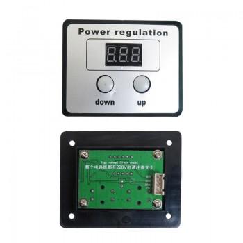 ماژول دیمر AC کنترل کننده ولتاژ به همراه نمایشگر