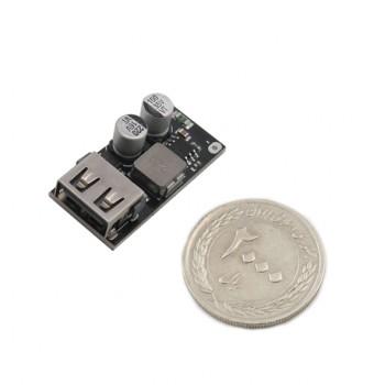ماژول رگولاتور DC به DC کاهنده 3.4 آمپر دارای خروجی USB 5V ( فست شارژ )
