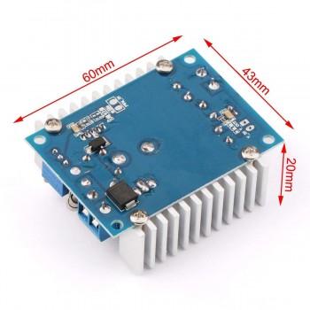 ماژول رگولاتور DC به DC کاهنده 12 آمپر با قابلیت تنظیم ولتاژ خروجی
