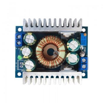 ماژول رگولاتور DC به DC کاهنده 10 آمپر با قابلیت تنظیم ولتاژ خروجی