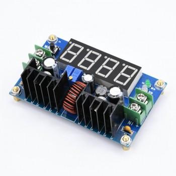ماژول رگولاتور DC به DC کاهنده 8 آمپر با قابلیت نمایش و تنظیم ولتاژ و جریان خروجی