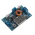 ماژول رگولاتور DC به DC کاهنده 5 آمپر XL4015 داری نمایشگر و قابلیت تنظیم ولتاژ خروجی