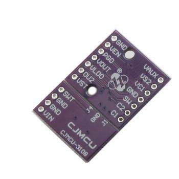 ماژول رگولاتور DC به DC افزاینده LTC3108 مناسب برای ولتاژهای بسیار کم