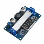 ماژول رگولاتور DC به DC افزاینده LTC1871 دارای نمایشگر و قابلیت تنظیم ولتاژ خروجی