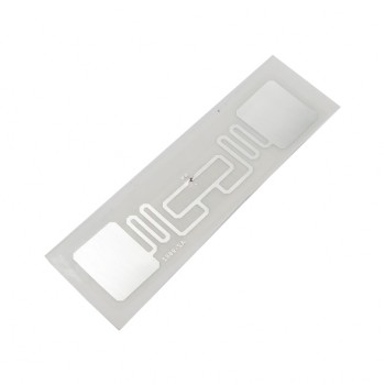 تگ RFID مستطیلی چسبی دارای فرکانس باند UHF و ابعاد 70mmX20mm
