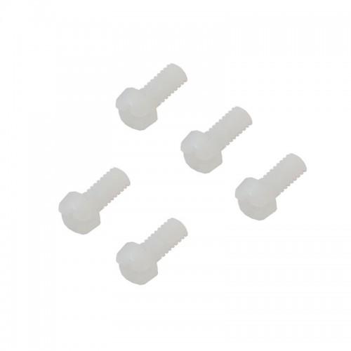 پیچ پلاستیکی M4 طول 10mm بسته 5 عددی