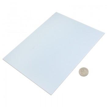 پروفیل ABS صفحه ای دارای ابعاد 200mmX250mmX2mm مناسب برای ساخت سازه های رباتیک