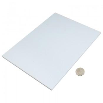 پروفیل ABS صفحه ای دارای ابعاد 200mmX250mmX5mm مناسب برای ساخت سازه های رباتیک