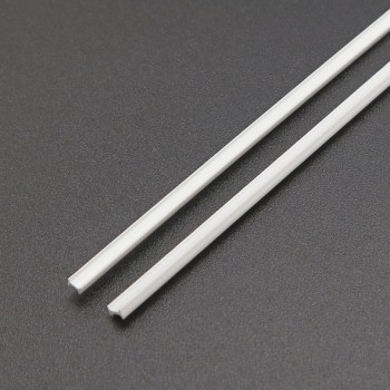 پروفیل ABS ریلی دارای ابعاد 3mmX2mm مناسب برای ساخت سازه های رباتیک