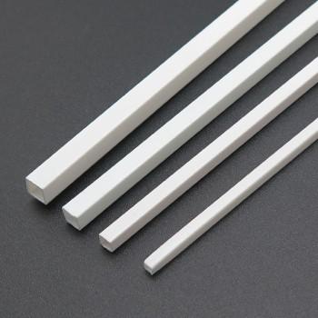 پروفیل ABS قوطی دارای مقطع مربعی 4mmx4mm مناسب برای ساخت سازه های رباتیک
