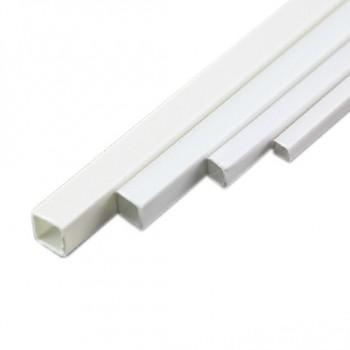 پروفیل ABS قوطی دارای مقطع مربعی 5mmx5mm مناسب برای ساخت سازه های رباتیک