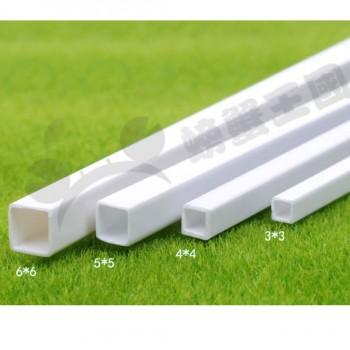 پروفیل ABS قوطی دارای مقطع مربعی 6mmx6mm مناسب برای ساخت سازه های رباتیک