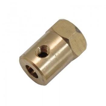 کانکتور تایر چرخ ( هگز کوپلینگ )  شفت 5mm  ویژه ربات های مدل