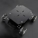 کیت ربات چهار چرخ Mecanum با قابلیت چرخش در تمام جهات