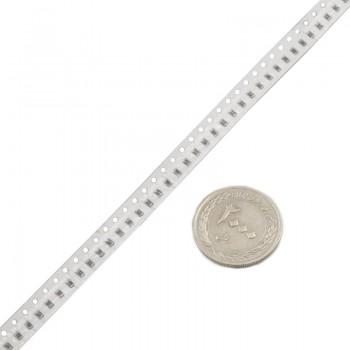 بسته 100 تایی مقاومت SMD دارای ظرفیت 680 کیلو اهم و پکیج 0805