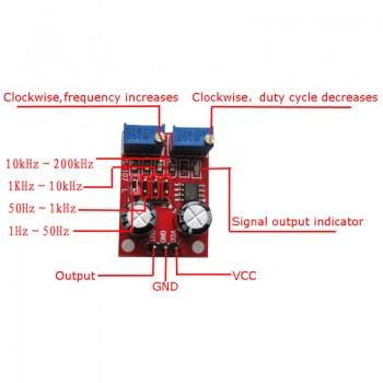 ماژول مولد پالس NE555 - مناسب برای درایو استپ موتور