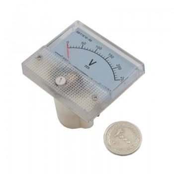 دستگاه ولت متر عقربه ای آنالوگ 0 تا 250 ولت DC