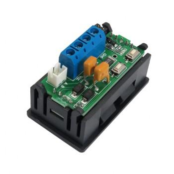 ماژول اندازه گیری و نمایش ولتاژ و جریان مستقل دارای ارتباط RS485 و پروتکل مدباس