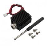ماژول لیزر آبی 405 نانومتری 5 ولت نقطه ای 1W با قابلیت تنظیم کانون