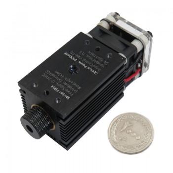 دیود لیزر 445 نانومتری 2500 میلی وات با قابلیت TTL