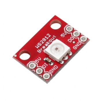 ماژول LED RGB دارای چیپ درایور WS2812