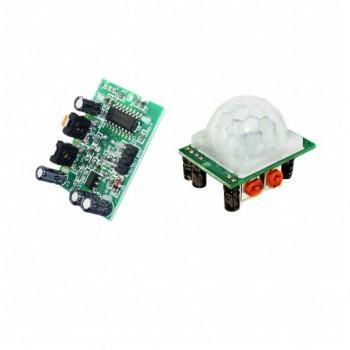 ماژول سنسور حرکت مادون قرمز HC-SR501 - تشخیص حرکت بدن - آشکار ساز حرکت