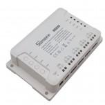 سوئیچ 4 کاناله دارای 3 مد کاری و قابلیت کنترل از طریق وایفای / ریموت 433MHz