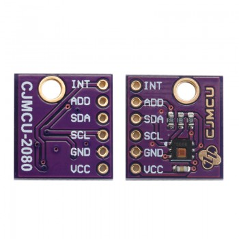 ماژول سنسور دما و رطوبت HDC2080 دارای ارتباط I2C