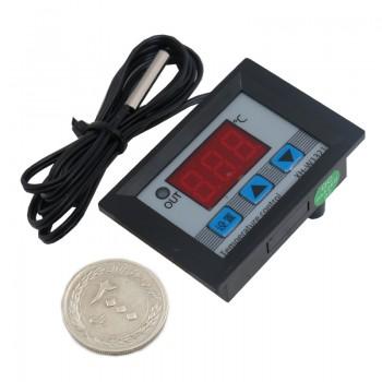 ماژول ترموستات دیجیتال XH-W3002 دارای نمایشگر و کلیدهای کنترلی