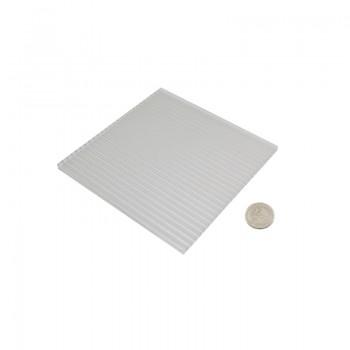 ورق پلی کربنات دارای ابعاد 150mmX150mmX6mm