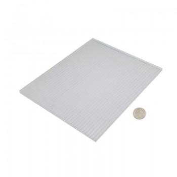 ورق پلی کربنات دارای ابعاد 200mmX250mmX6mm