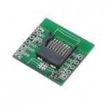 ماژول پخش فایل های صوتی HSC003  دارای ارتباط سریال با پشتیبانی از TF card