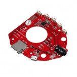 ماژول پخش فایل های صوتی دارای ورودی های بلوتوث / USB / SD CARD و گیرنده FM به همراه کلید های کنترلی