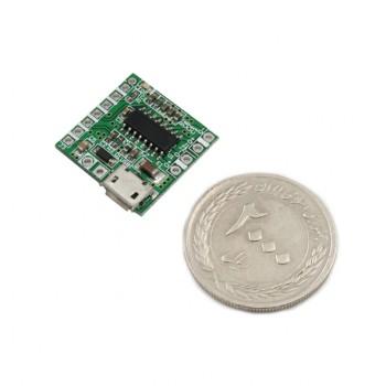ماژول آمپلی فایر استریو 3 وات PAM8403 دارای سوکت پاور میکرو USB