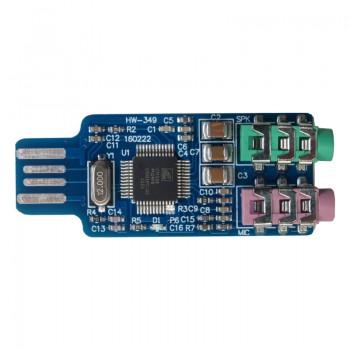ماژول کارت صدای اکسترنال CM108 دارای ارتباط USB