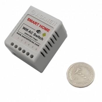 ماژول رله سه کاناله با قابلیت کنترل وایفای محصول Asaneh