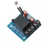 ماژول فتوسل (سنسور نور )5 ولت یک کاناله دارای رله 10 آمپری تولید داخل