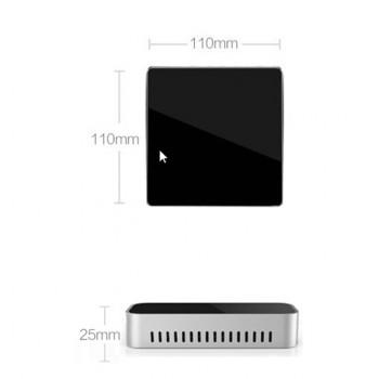مینی پی سی چهار هسته ای 1.8GHz دارای خروجی HDMI / VGA و هار داریو 32GB